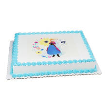 Member's Mark 1/2 Sheet Disney Frozen Cake