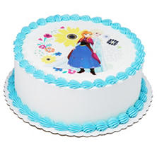 "Member's Mark 10"" Disney Frozen Round Cake"