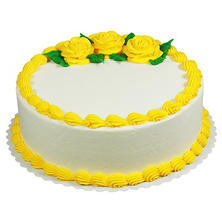 "Member's Mark 10"" Yellow Rose Round Cake"
