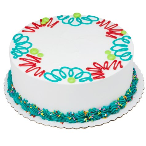 "Member's Mark 10"" Party Round Cake"