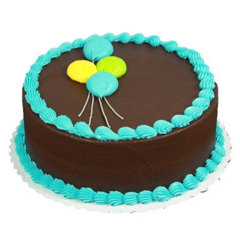 """Member's Mark 10"""" Pastel Ballon Round Cake"""
