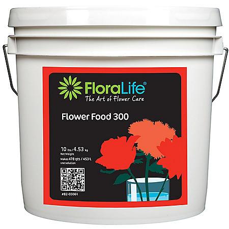 FloraLife Flower Food 300, Powder (10 lb. Pail)