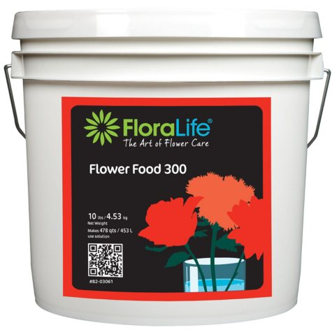 FloraLife Flower Food 300, Powder (10 lb. Pail)