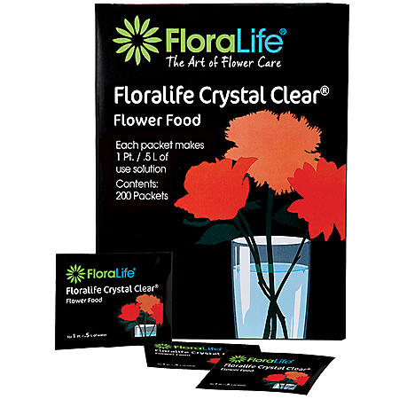 FloraLife Crystal Clear 300, Powder Sachets (200 ct.)