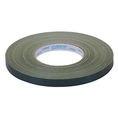 Oasis Waterproof Floral Tape, Green, Half-Inch Wide (Choose quantity)