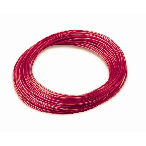 Oasis Aluminum Wire, Red - 39 ft. per roll (Choose 1 or 10 count)