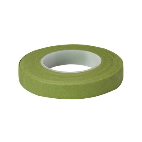 "Floratape Stem Wrap, 1/2"" Light Green - 90 Feet Per Roll  (choose 12 or 288 rolls)"