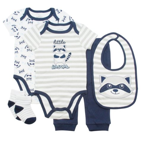 Quiltex Infant 5-Piece Set - Boy or Girl