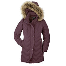 Designer Women's Long Down Jacket