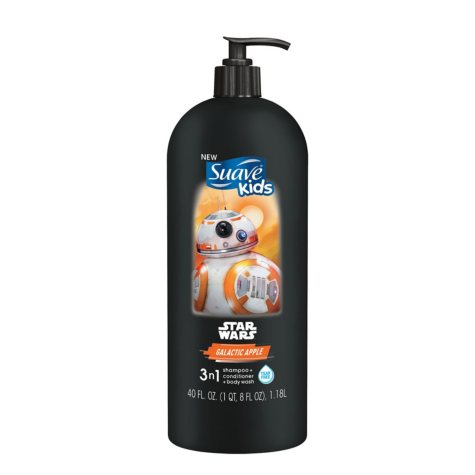 Suave Kids Shampoo & Body Wash, Choose Your Scent (40 fl. oz.)