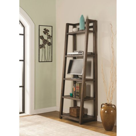 Darcy Leaner Bookcase