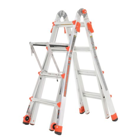 Little Giant Velocity M17 Multi-Use Ladder with Work Platform