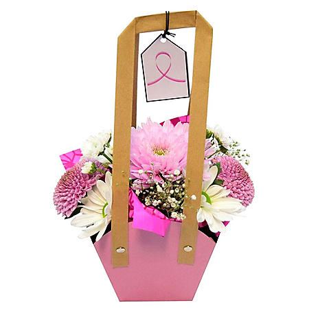 Breast Cancer Awareness, Mini Floral Arrangements (9 ct.)