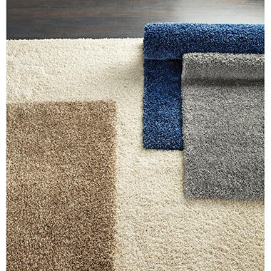 Laura Ashley Collection 8 X 10 Shag Rug Assorted Colors