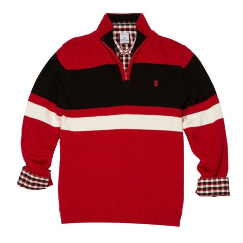IZOD Boy's Sweater Set