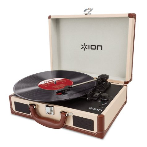 ION Vinyl Motion Turntable
