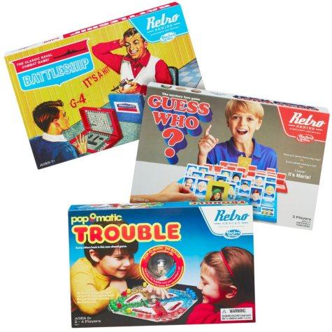Hasbro Gaming: Retro Series Board Games (Various Titles)