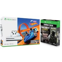 Microsoft Xbox One S 500GB Forza Horizon 3 Hot Wheels Console + Call of Duty Bundle