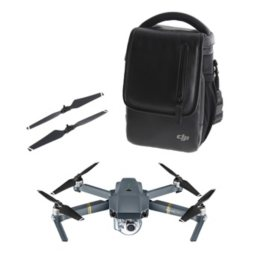 DJI Mavic Pro Bundle (Drone, Bag, Extra Props)