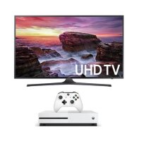 "Samsung UN43MU6290 43"" 4K Ultra HD 2160p 120Hz HDR Smart LED HDTV + Microsoft Xbox One S 500GB"