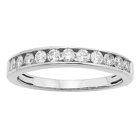 0.50 CT. T.W. 11 Stone Diamond Band