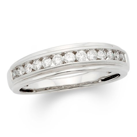 0.25 CT. T.W. Round Diamond Mens Band in 14K Gold