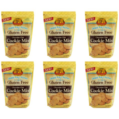 Debbie Kay's Kitchen Gluten-Free Chocolate Chip Cookie Mix (18 oz. ea., 6 ct. case)