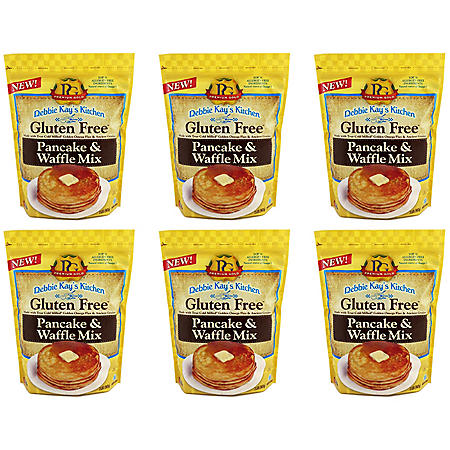 Debbie Kay's Kitchen Gluten-Free Pancake and Waffle Mix (32 oz. ea., 6 ct. case)