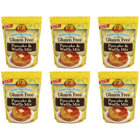Debbie Kay's Kitchen Gluten-Free Pancake and Waffle Mix (32 oz. ea., 6 ct. case)