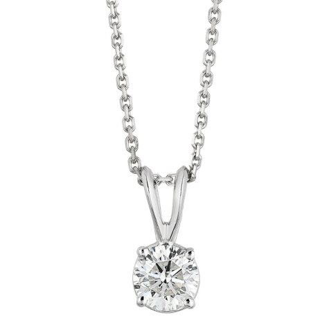 Superior Quality Collection 2 CT. T.W. Round Diamond Pendant in 18K Gold (I, VS2)
