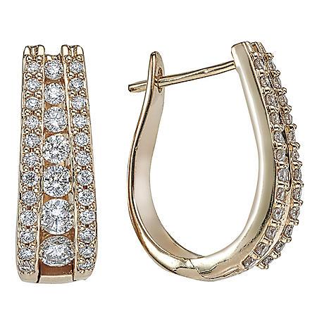 1.49 ct. t.w. Diamond Earrings in 14k Yellow Gold (I, I1)