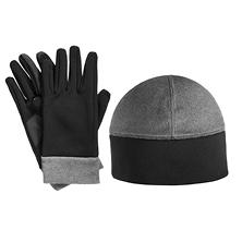 Isotoner smarTouch Active Stretch Glove and Hat Set