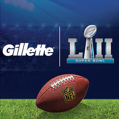 Gillette Super Bowl LII Experience Package