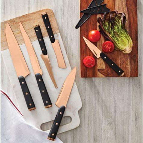 Tomodachi 12-Piece Titanium-Coated Cutlery Set (Assorted Colors)