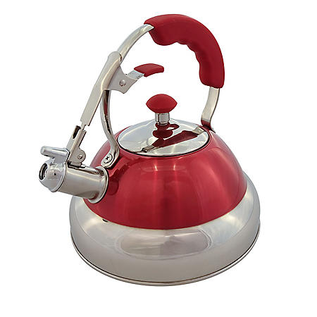 Member's Mark 2.7 Qt. Stainless-Steel Tea Kettle (Assorted Colors)