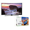 Deals on Samsung 55-inch 4K Curved Smart TV + Xbox One S Forza Bundle
