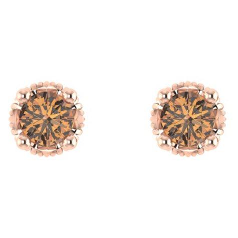 0.35 CT. T.W. Diamond Earring in 14K Rose Gold