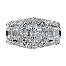 1.95 CT. T.W. Diamond Ring in 14K White Gold