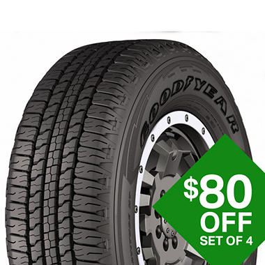 Goodyear Wrangler Fortitude HT - 235/70R17/XL 109T Tire