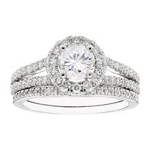 1.50 CT. T.W. Diamond Bridal Set in 14K Gold (I-I1)