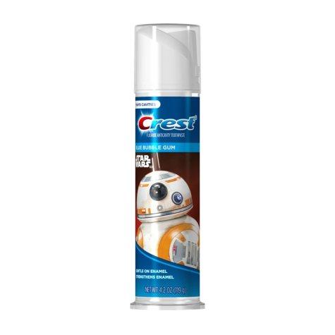 Crest Kid's Toothpaste, Disney Star Wars (4 pk., 4.2 oz. each)