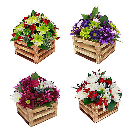 Beautiful Reasons Arrangements (4 ct.)