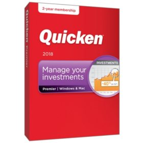 Quicken Premier 2-Year Win/Mac (2018 release)