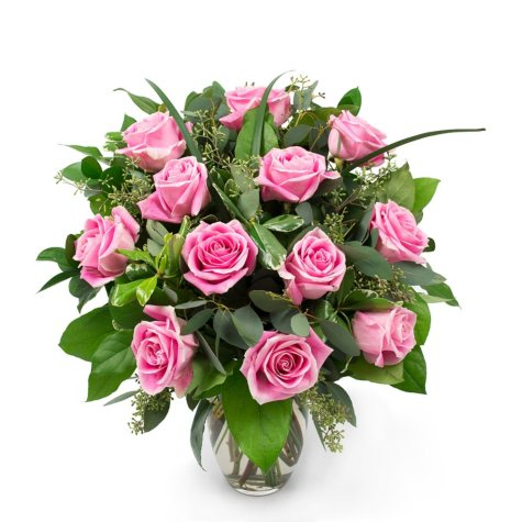 Rose Bouquet, Pink (Choose Stem Count)