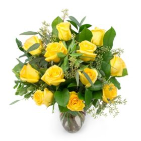 Rose Bouquet, Yellow (Choose Stem Count)