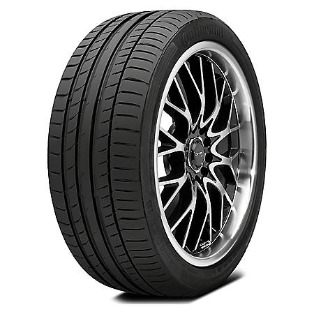 Continental ContiSportContact 5 - 255/45R19 100V Tire