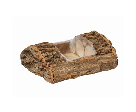 "Oasis Natural Bark Log, 8"" (6 ct.)"