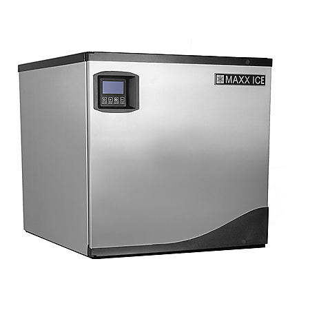 "Maxx Ice 22"" Wide 360 lb Half Dice Ice Machine"