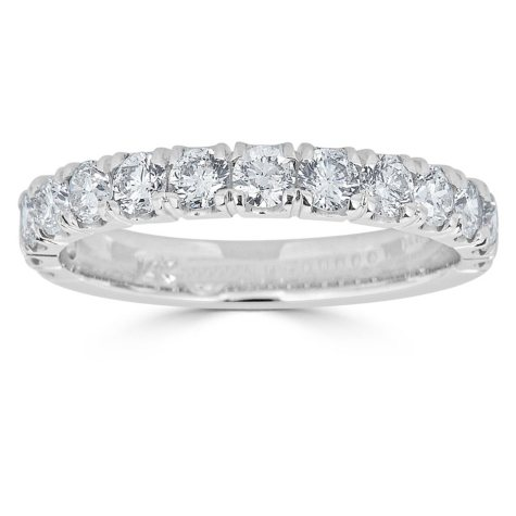 0.99 CT. T.W. 14-Stone Diamond Band Ring in 14K Gold (HI, I1)