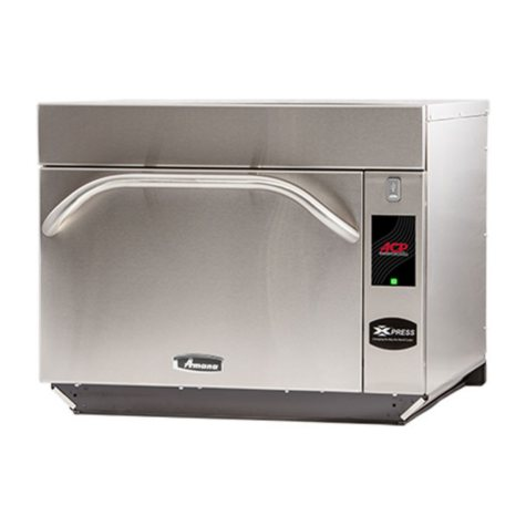 Amana AXP22TLT High-Speed Accelerated Cooking Countertop Oven with Touchscreen Display, 2000W